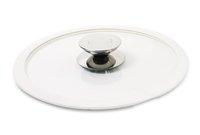 Крышка стеклянная с белым силиконовым ободком Berndes (Ø 24 см) (007524)