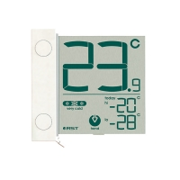 Термометр цифровой уличный на липучке RST 01291