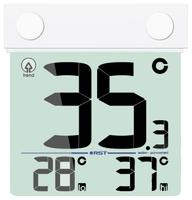 Оконный термометр на солнечной батарее RST 01389
