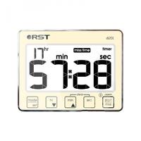 Цифровой таймер-секундомер с часами RST 04201
