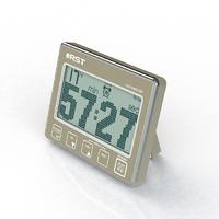 Цифровой таймер-секундомер с часами RST 04207