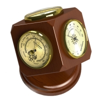 Барометр,Гигрометр,Термометр КУБ RST 05345 диам. 70*130 мм