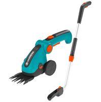 Ножницы для травы аккумуляторные ComfortCut Li с телескопической рукояткой Gardena (09858-20)
