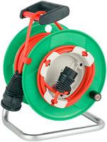 1098550001 Brennenstuhl Удлинитель на катушке 23+2м Garant, красный кабель, IP44