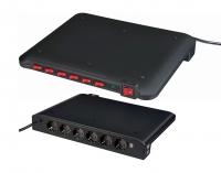 Сетевой фильтр 2 м Brennenstuhl Power Manager, 6 розеток, 4 USB (1150050)