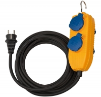 Удлинитель 10 м Brennenstuhl Heavy-duty rubber cable, 4 розетки, IP54 (1151740010)