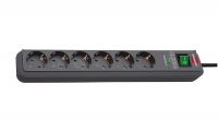 Сетевой фильтр 5 м Brennenstuhl Eco-Line 13.5 А, 6 розеток (1159710515)
