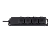Удлинитель 2 м Brennenstuhl Extension Socket, IP44, 4 розетки (1159960)