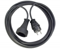 Удлинитель 3 м Brennenstuhl Quality Extension Cable, черный (1165430)