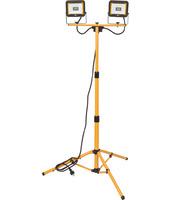 Светодиодный прожектор на штативе Brennenstuhl LED Light JARO 4000 T, 1870 лм, 2 х 20 Ватт (1171250434)