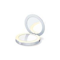 Зеркало косметическое карманное Beurer BS39 Power bank с подсветкой