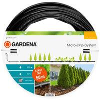 Шланг сочащийся для наземной прокладки с фитингами и мастер-блоком Gardena (13013-20)