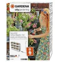 Комплект микрокапельного полива для вертикального садоводства для 9 горизонтальных горшков Gardena (13156-20)