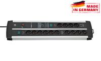 Сетевой фильтр 3 м Brennenstuhl Premium-Protect-Line 120.000А, 14 розеток, 2 USB (1392000232)