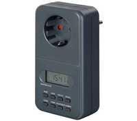 Таймер электронный Brennenstuhl, черный, IP20 (1506696)