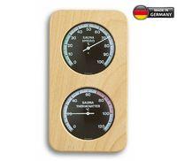 Аналоговый термогигрометр для сауны с деревянной рамой TFA 40.1004