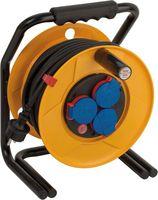 Удлинитель на катушке 25 м Brennenstuhl Brobusta, 3 розетки, черный кабель, 3G1,5 (1317430)