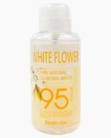 Очищающая вода с экстрактом белых цветов FarmStay PURE CLEANSING WATER WHITE FLOWER 500 мл (480993)