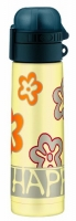 Термос-бутылочка Alfi Be happy flowers yellow 0,5L