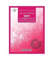 Тканевая маска для лица с плацентой LEBELAGE PLACENTA NATURAL MASK 23 мл (539225)
