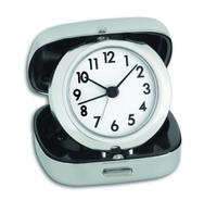 Часы-будильник с металлическим футляром TFA (60.1012)