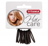Резинки для волос TITANIA, 3 см, 12 шт., серые (7802)