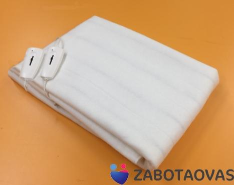 Простыня электрическая двуспальная без чехла, 2 зоны обогрева, 145 х 185 см, ИНКОР 78031 (ОНЭ-4-100/220)