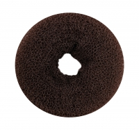 Валик для пучка TITANIA, 8 см, коричневый (7834)