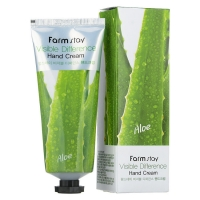 Крем для рук с экстрактом алоэ FarmStay VISIBLE DIFFERERCE HAND CREAM ALOE 100 мл (8510077 / 8562028)