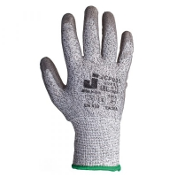 Jeta Safety JCP031 Перчатки для защиты от порезов (3 класс) из синтетики с полиуретановым покрытием