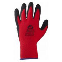 Jeta Safety JN051 Защитные трикотажные перчатки из полиэстра с рельефным нитриловым покрытием
