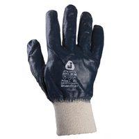 Jeta Safety JN062 Защитные перчатки из 100% хлопка с полным нитриловым покрытием и вязаной манжетой