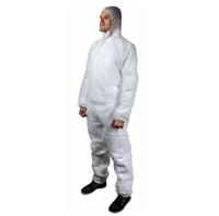 Комбинезон одноразовый из нетканого материала (100% полипропилен) Jeta Safety JPC04, размер XL