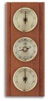 Аналоговая метеостанция TFA, 20.1002.01, деревянная