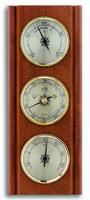Аналоговая метеостанция TFA, 20.1002.03, деревянная