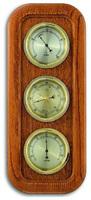 Аналоговая метеостанция TFA, 20.1019.01, деревянная