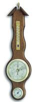 Аналоговая метеостанция TFA, 20.1037.01, деревянная