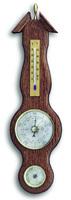 Аналоговая метеостанция TFA, 20.1038, деревянная