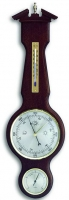Аналоговая метеостанция TFA, 20.1047.03, деревянная