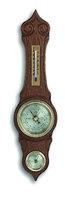 Аналоговая метеостанция TFA, 20.1060.01, деревянная