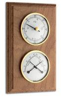 Аналоговая метеостанция TFA 20.1087, деревянная