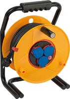 Удлинитель на катушке 40 м Brennenstuhl Brobusta Bretec,3 розетки, черный кабель (1312500)