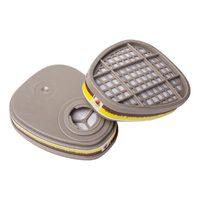 Фильтр противогазовый 2шт. Jeta Safety 6540 для защиты от органических и кислых газов класса A1Е1