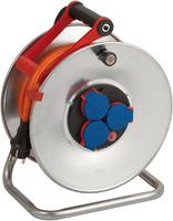Удлинитель на катушке 25 м Brennenstuhl Garant S, 3 розетки, кабель BREMAXX, 3G2,5 (1198480)