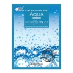 Тканевая маска для лица с морской водой LEBELAGE AQUA NATURAL MASK 23 мл (000551)