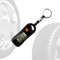 Цифровой измеритель давления в шинах c термометром (брелок) RTS 00455