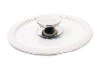 Крышка стеклянная с белым силиконовым ободком Berndes (Ø 20 см) (007520)