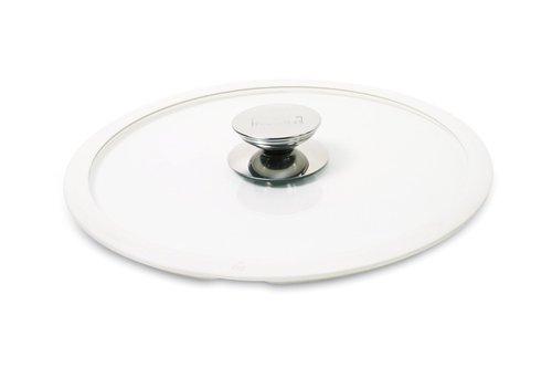 Крышка стеклянная с белым силиконовым ободком Berndes (Ø 28 см) (007528)