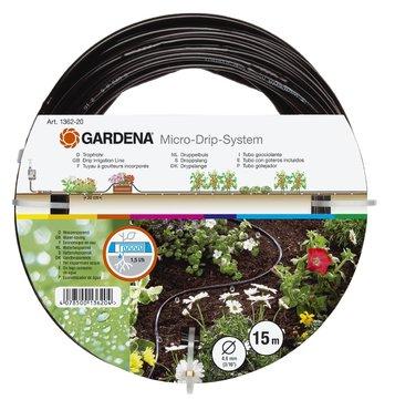 "Шланг сочащийся для наземной прокладки 4,6 мм (3/16"") х 15 м Gardena (01362-20)"