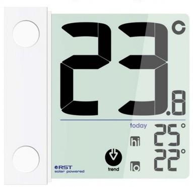 Оконный термометр на солнечной батарее RST 01391